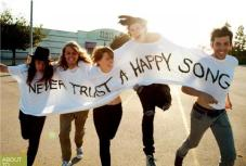 Never Trust a Happy Song